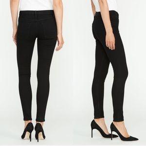 (Reserved) Hudson Jeans Mid Rise Black Jeans